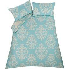 Buy Eve Damask Blue Bedding Set - Kingsize at Argos.co.uk, visit Argos.co.uk to shop online for Duvet cover sets