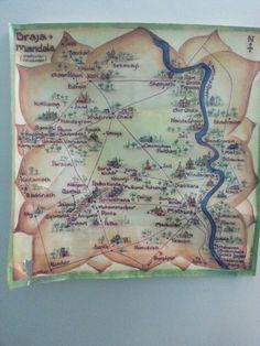 Map of brajmandal