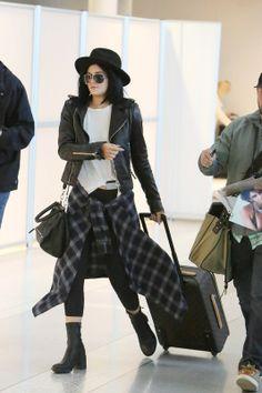 Kylie Jenner na lotnisku w Toronto, 16.06. 2014, fot. East News