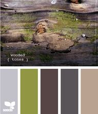 wooded tones!