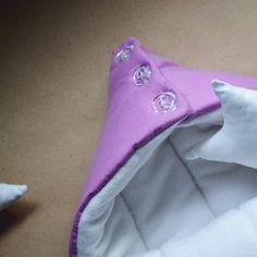 Sleeping bag for newborn autumn-winter by OrigamicoWorkshop