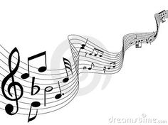 Vector Illustration about Music notes