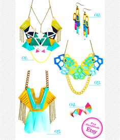 Maiko Nagao - Graphic Designer/Illustrator: Currently Obsessed: Handmade Jewellery by Boo & Boo Factory