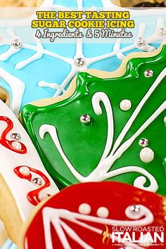 Best Tasting Sugar Cookie Icing