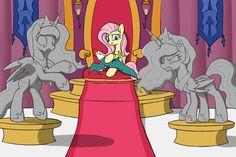 Kneel Before Your Queen by skitter
