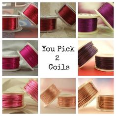 26 gauge Wire Special  YOU Pick 2  Enameled by UnkamenSupplies, $16.00