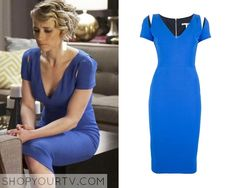 REVENGE: SEASON 4 EPISODE 19 MARGEUX'S Fitted Pencil Dress