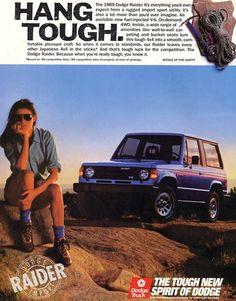 14 - 1987 Dodge Raider Down On The Junkyard - Picture Courtesy of Chrysler