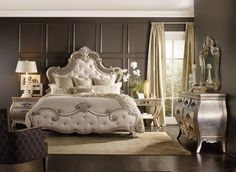 """anctuary reminds me of Coco Chanel's fashion style: timeless, classy and oh so elegant,"""" wrote Janice. Photo: Hooker Furniture."""