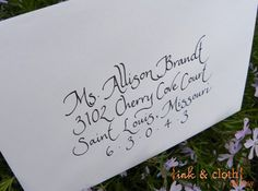 Handwritten calligraphy.