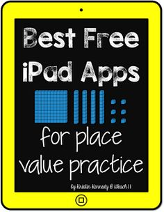 iTeach 1:1: Free Place Value Apps and Activities for iPads