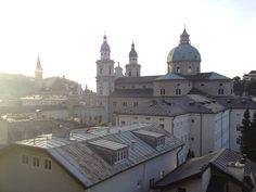 view from the stiegelkeller @ dome salzburg
