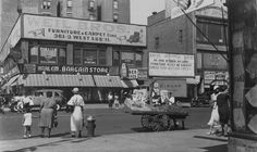 125th Street and St. Nicholas Avenue (June 25th 1934) -Percey Loomis Sperr, photographer