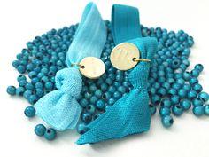 #armbänder #blau #gold #elastisch #perlen #hairties Coin Purse, Wallet, Gold, Beads, Blue, Purses, Diy Wallet, Coin Purses, Purse
