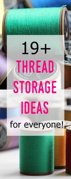 thread storage ideas | sewing room decor | sewing organization | thread organization