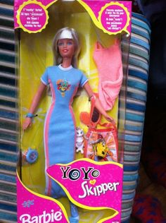 Yo Yo Teen Skipper Doll Barbie Sister By Mattel 1998