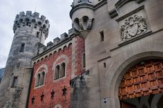german castle detail