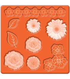 Mod Podge Mod Mold Flower Icons