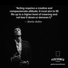 Let your heart guide your performance. #theatre #thespians #acting #broadway #actingquotes #theatrequotes #actinginspiration