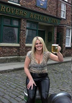 Coronation Street Iconic Pub The Rovers Return.