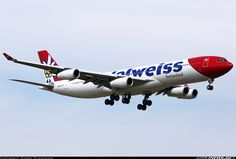 Airbus A340-313 - Edelweiss Air | Aviation Photo #3992059 | Airliners.net