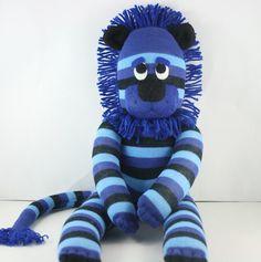 Leroy the Sock Lion - so cute!