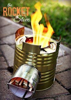 rocket stove - estufa rocket