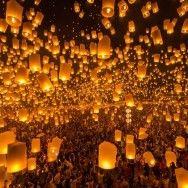 Dilek feneri atınca kutlama olur