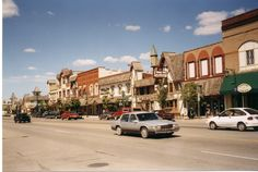 Downtown Gaylord, Michigan