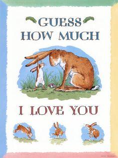 Nawet nie wiesz jak bardzo Cię #kocham. Nie tylko dla #dzieci ;)/Guess how much I #love you! - not only for your kids!