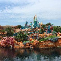 Mermaid Lagoon, Disney Sea, Tokyo Disneyland