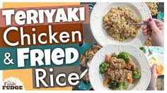 TERIYAKI CHICKEN & FRIED RICE    Two Dinners in One!    What's for Dinne...