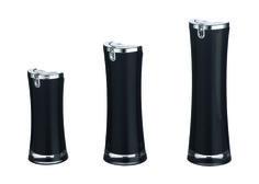 Black perfume bottle in different size www.ideagroupigm.com