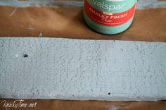 Chalky finish paint AntiquedValspar YouTube chalk paint