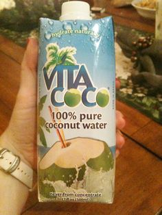 Coconut Water - Yum! Love her organic and natural food blog!