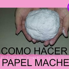 ¡Hoy vas a aprender a realizar papel maché! Paper Flowers Craft, Flower Crafts, Paper Crafts, Paper Mache Clay, Paper Mache Sculpture, Origami, Xmas 2015, Diy Baby Gifts, Diy Wedding Bouquet