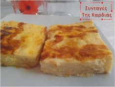 Savory Muffins, Savoury Pies, Cheese Souffle, Good Food, Yummy Food, Greek Cooking, Group Meals, Greek Recipes, Brunch