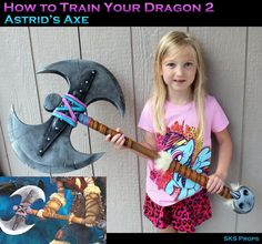 Astrid from How to Train Your Dragon 2 for my Little Girl updated 10/13/14