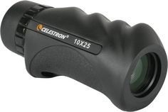 This monocular is made for the outdoors -- waterproof, fogproof, and featuring a secure rubber grip. Nature 10x25 Monocular - $44.95