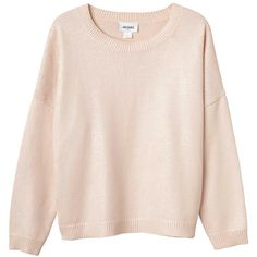 Brenda knit ($55) ❤ liked on Polyvore featuring tops, sweaters, shirts, jumpers, powder puff, knit tops, peach sweater, shirts & tops, knit shirt and shirt sweater