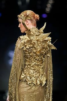 """Tex Saverio with """"The Revelation Collection"""" / Gold Couture"""