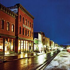 New Sheridan Hotel - Sunset Magazine What A Beautiful World, Beautiful Places To Travel, Travel Deals, Travel And Leisure, Telluride Lodging, Hotel Sunset, Dream Vacations, Wonders Of The World