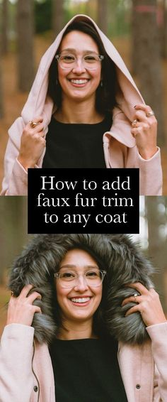 Give your parka an instant makeover (no sewing machine needed). This faux fur trim attaches to any hood or collar with super-strong magnets. Super Strong Magnets, I Love Winter, Fur Trim, Capsule Wardrobe, Parka, Faux Fur, Sewing, Tees, Holiday Gifts