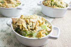 skinny chicken broccoli casserole recipe serves 5 and is freezer friendly
