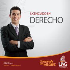 Como Licenciado en Derecho de la #UAG podrás laborar en el sector público y en el privado como asesor en los despachos jurídicos.