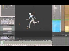 Learn Character Animation Using Blender - Run Away! by 4ap21 on Youtube