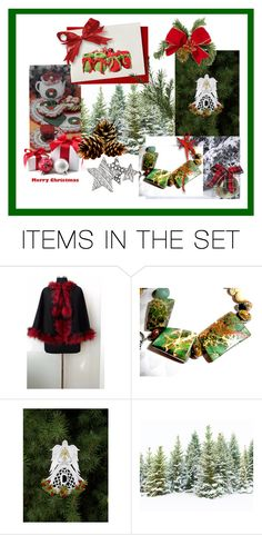 """Dreaming of a White Christmas"" by thesandlappershop ❤ liked on Polyvore featuring art, EtsySpecialT, crazy4etsy and SpecialTweek"