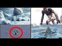 UFOLOGIA NOTÍCIAS: Cratera gigante descoberta em área inexplorada da Antártida pode ser uma base secreta alienígena ou uma criatura gigante!