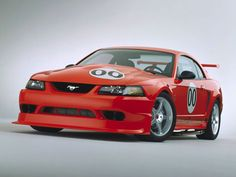 The one-year-only 2000 Ford Mustang Cobra R was one of the most radical and raw ponies Ford ever built. Only 300 were made. At its heart, the Cobra R was a thinly disguised road racer for the street. The snarling 385-hp 5.4-liter V-8 was hooked to a six-speed manual and a tight limited slip differential in an independent rear suspension. That compact rear suspension replaced the Mustang's solid axle to make room for a 21-gallon fuel cell for racing. Forget air conditioning, traction control…