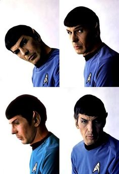 I should have been born earlier so I could have seduced Leonard Nimoy